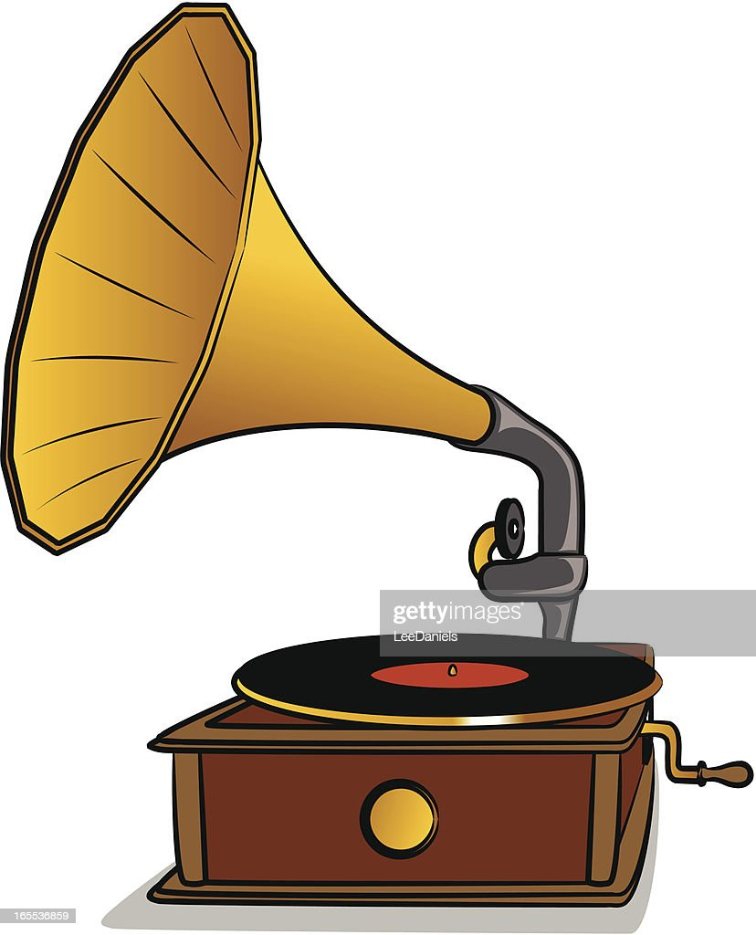 gramophone high res vector graphic getty images https www gettyimages com detail illustration gramophone royalty free illustration 165536859
