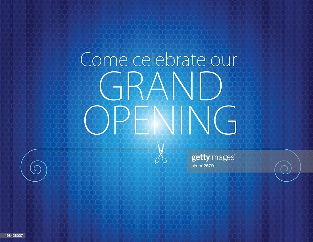 Grand opening invitation vector art getty images grand opening invitation vector art stopboris Image collections