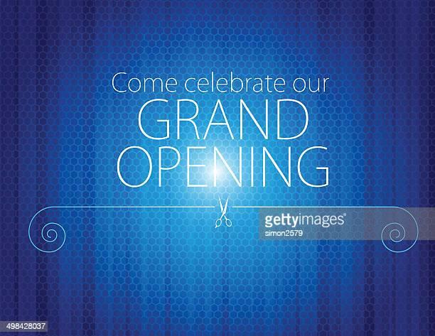 グランドオープンご招待 - オープニングイベント点のイラスト素材/クリップアート素材/マンガ素材/アイコン素材