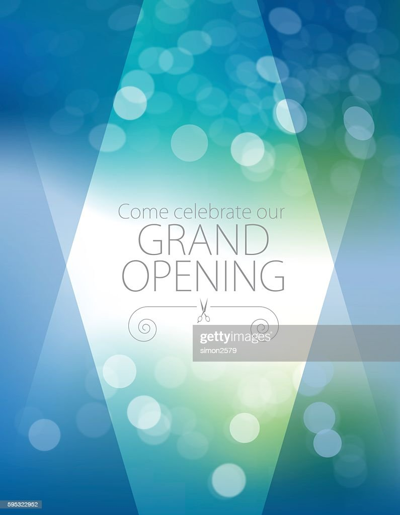 Grand opening luxurious invitation card vector art getty images grand opening luxurious invitation card vector art stopboris Gallery