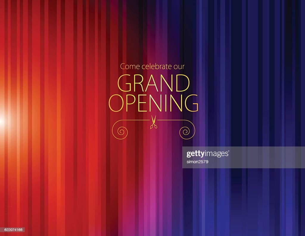 Grand opening luxurious invitation card vector art getty images grand opening luxurious invitation card vector art stopboris Image collections