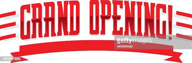 グランドオープン - オープニングイベント点のイラスト素材/クリップアート素材/マンガ素材/アイコン素材