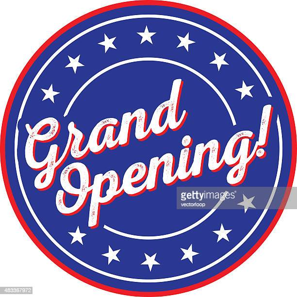 grand opening - opening ceremony stock illustrations