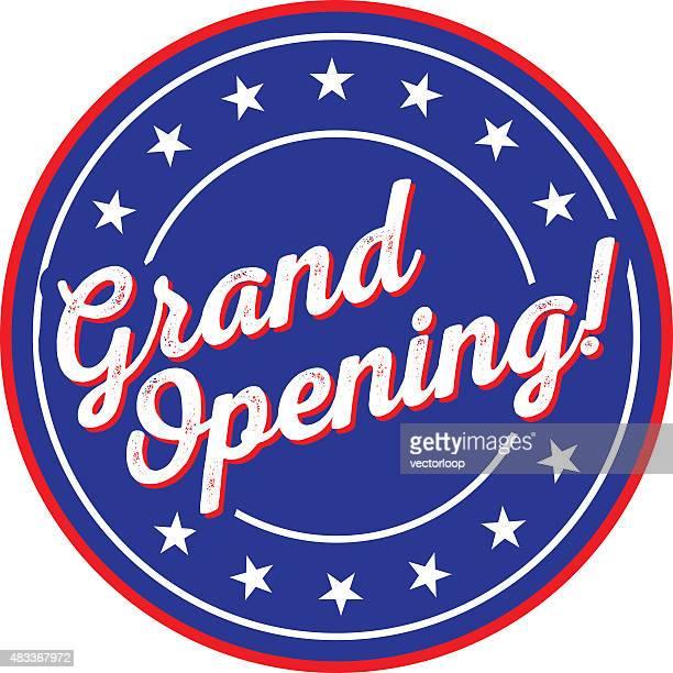illustrazioni stock, clip art, cartoni animati e icone di tendenza di grande inaugurazione - cerimonia d'apertura