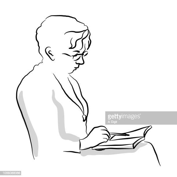 Grandmother Reading