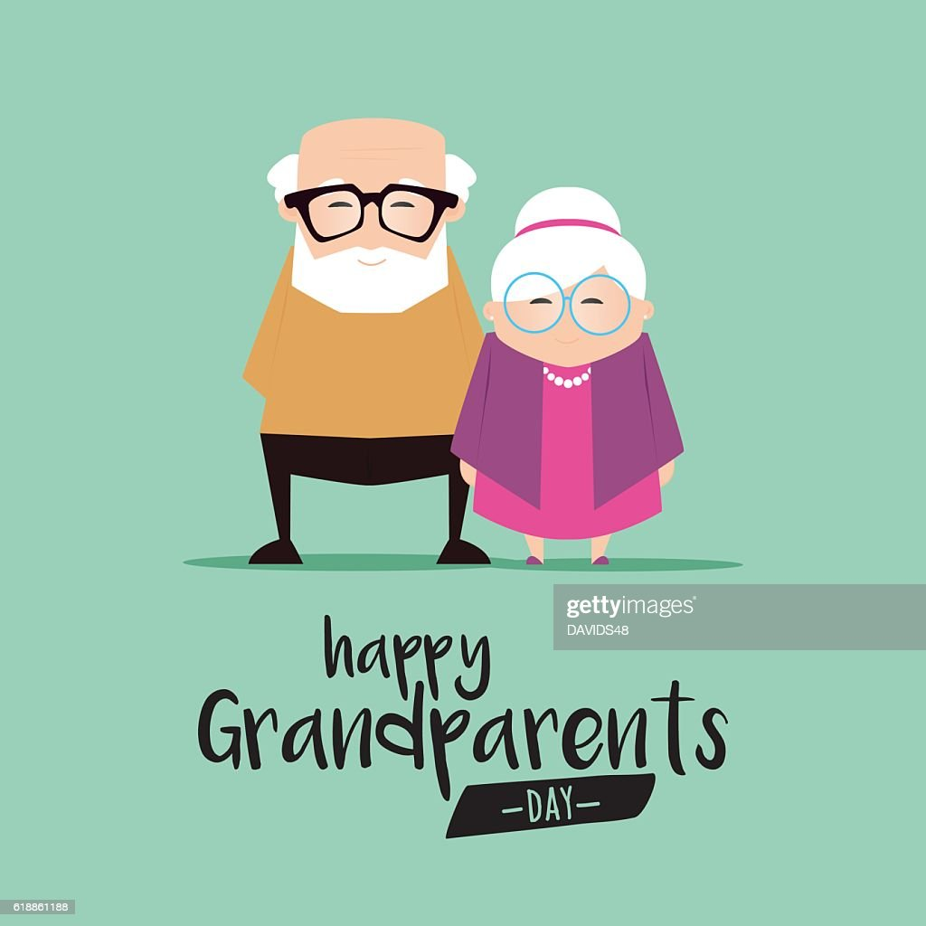 Grandparents day background