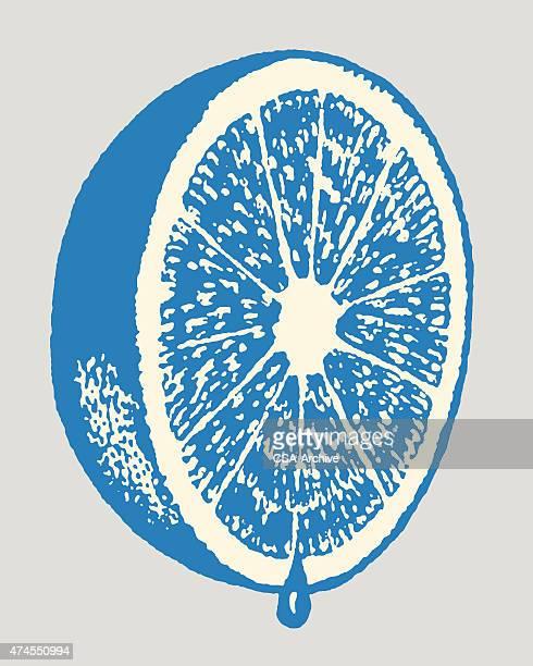 grapefruit half - lemon fruit stock illustrations, clip art, cartoons, & icons