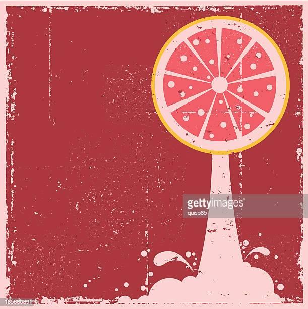 Grapefruit Juice Sign