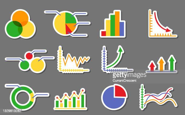 graphs marketing charts business infographics different