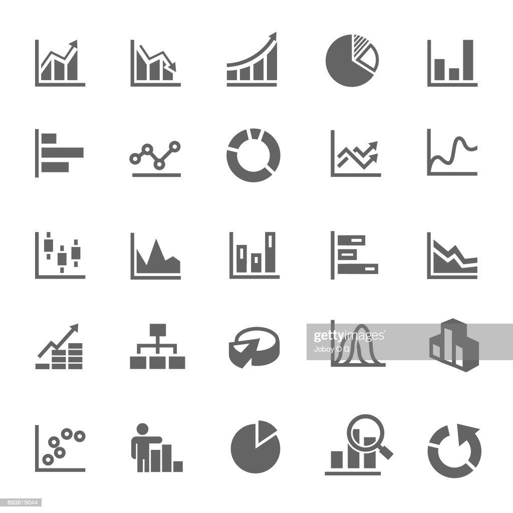 icona grafico : Illustrazione stock