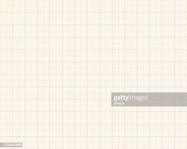 graph paper seamless pattern - graph stock illustrations