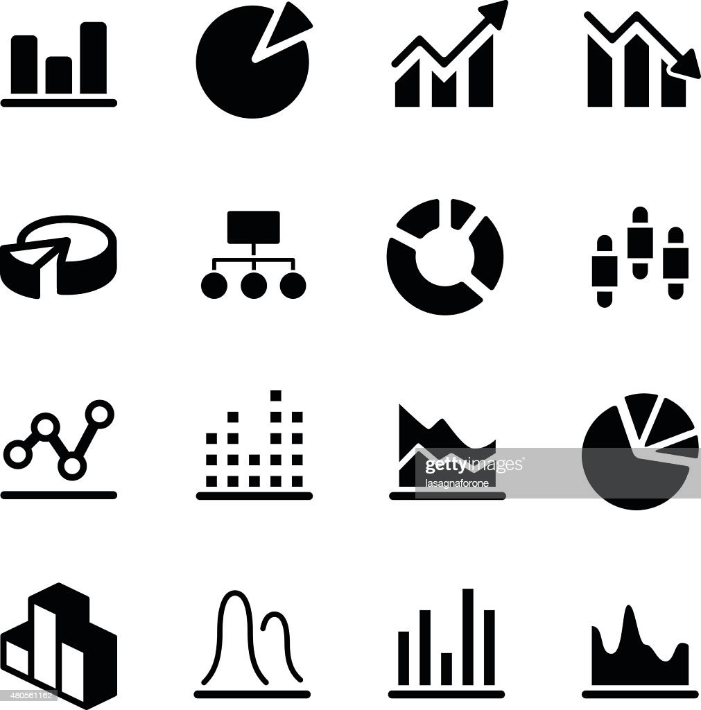 Graph/Diagram Icons