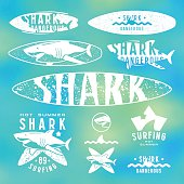 Graphic design for surfboard and t-shirt