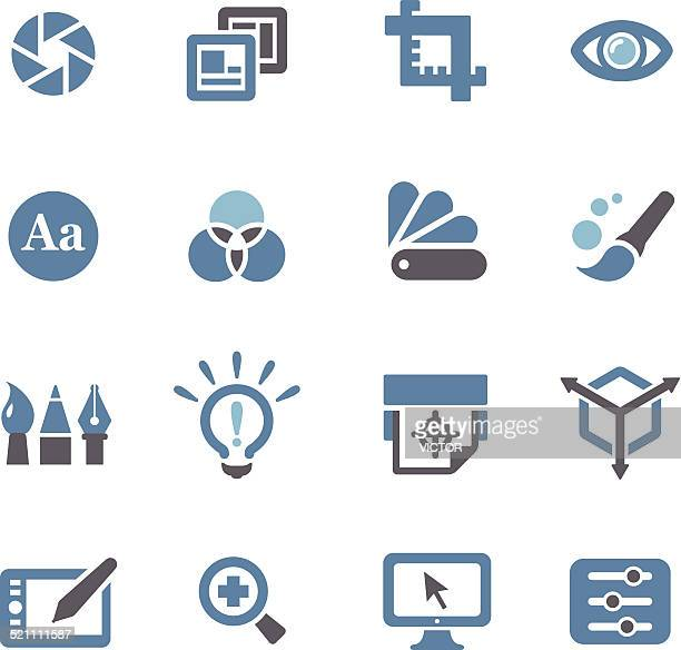Graphic Design Icons - Conc Series