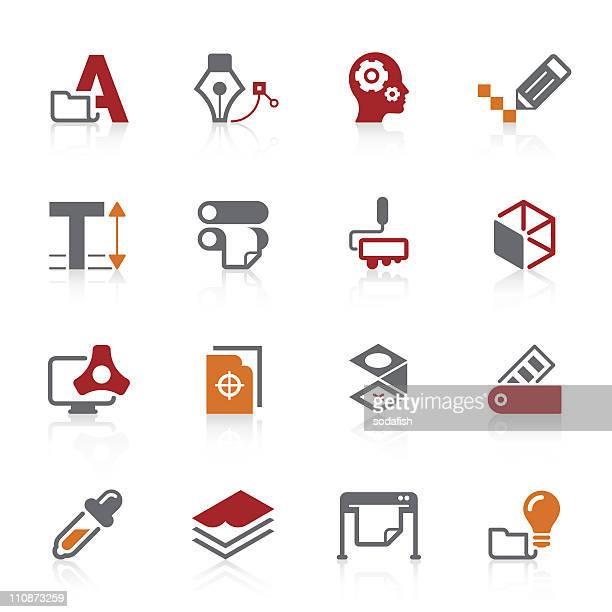 Graphic design & Print icons   Alto series