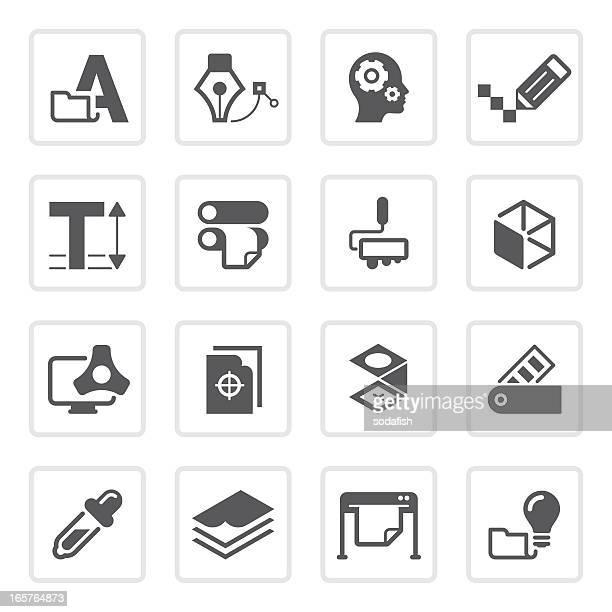 graphic design & print icons   prime series