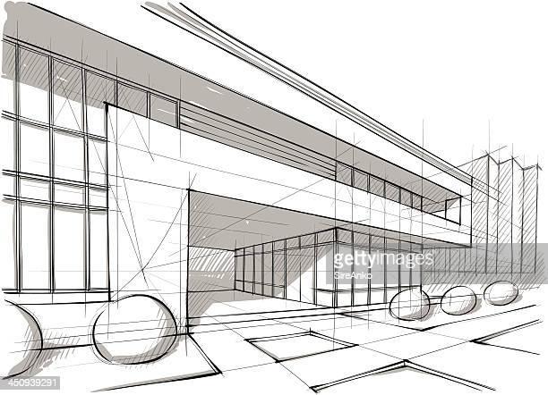 ilustraciones, imágenes clip art, dibujos animados e iconos de stock de arquitectura - arquitectura