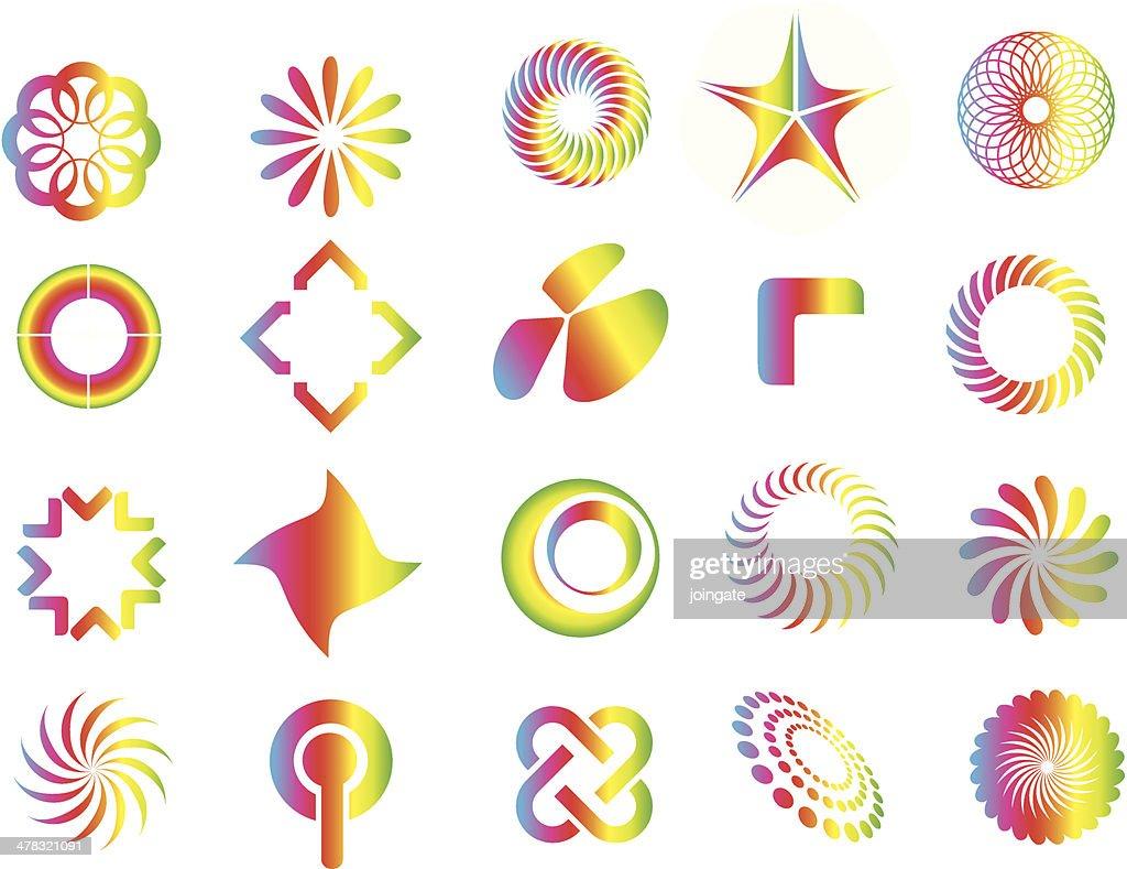 graphic design symbol elements