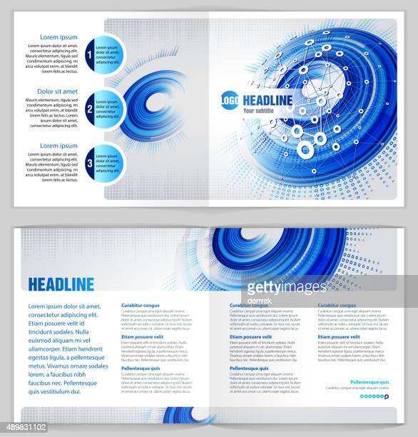 """Graphic Design Template """"Communications technology"""""""