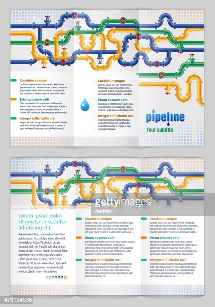 graphic design template - water treatment stock illustrations, clip art, cartoons, & icons