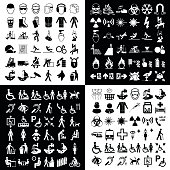 Graphic icon collection