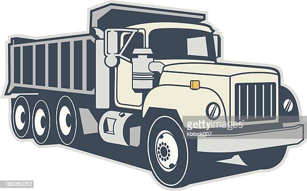 ダンプトラック - ダンプカー点のイラスト素材/クリップアート素材/マンガ素材/アイコン素材