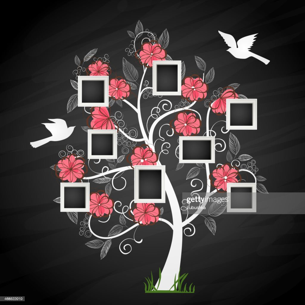 Graphic image of a memory tree