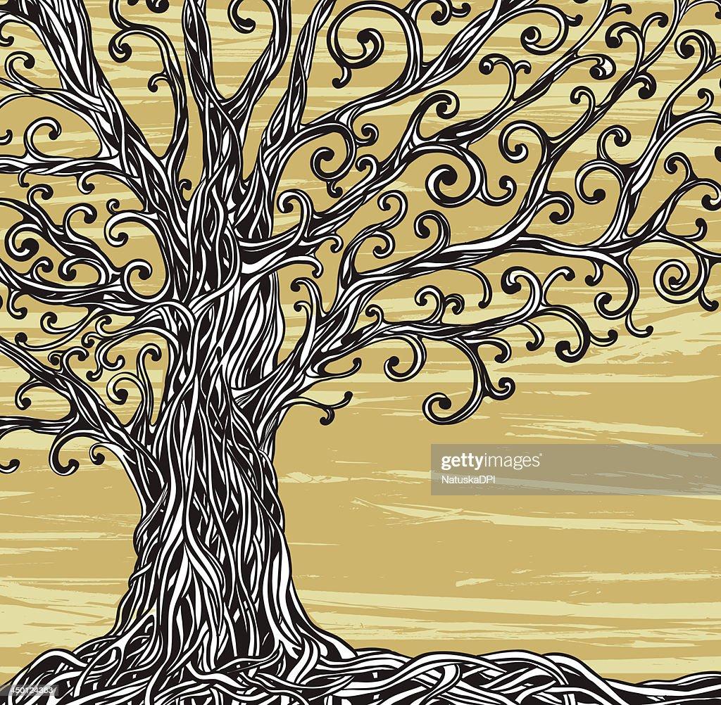 Graphic tree.