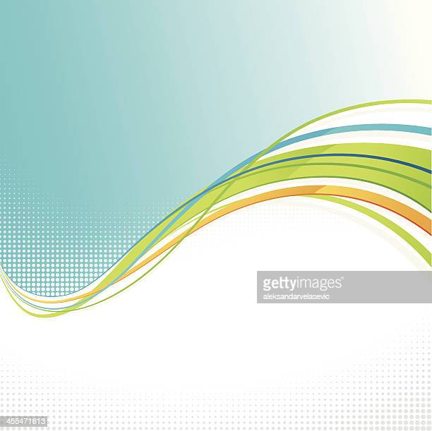 Graphic Wave Background