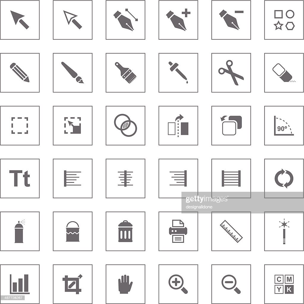 Graphics Interface Icons