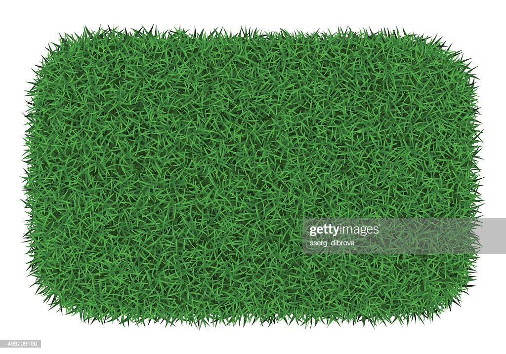 Grass mat for animals to use for bathroom