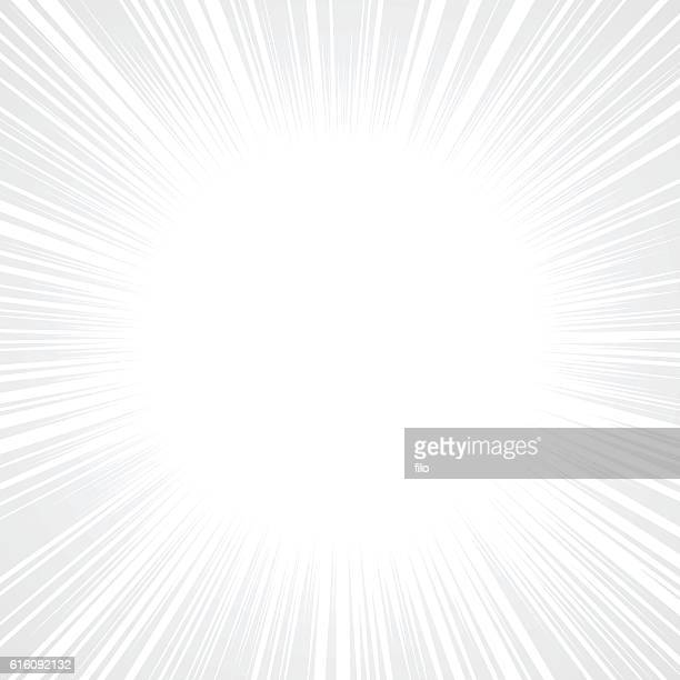 Gray Abstract Explosion Background