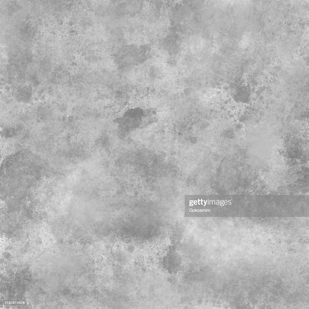 Gray and White Concrete Abstract Wall Texture. Grunge Vector Background. Full Frame Cement Surface Grunge Texture Background : stock illustration
