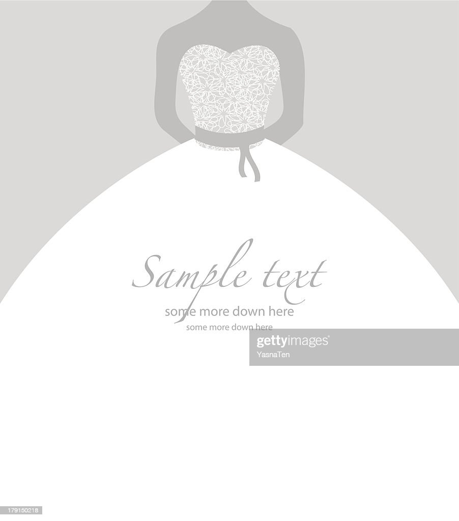 Gray and white simple bridal background