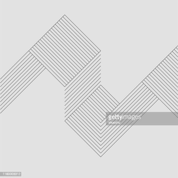 gray arrange stripe line minimalism pattern background - in a row stock illustrations