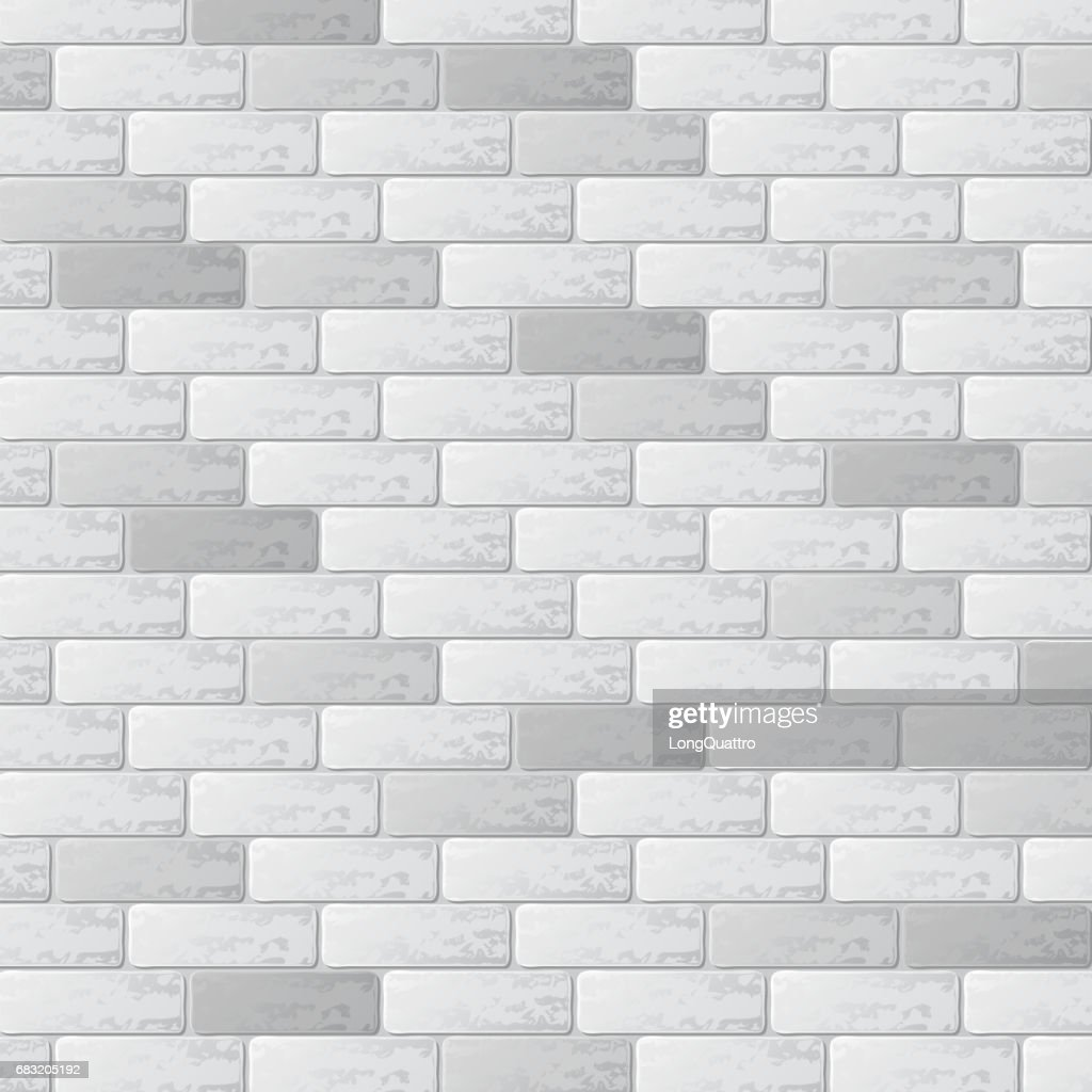 Gray brick wall background