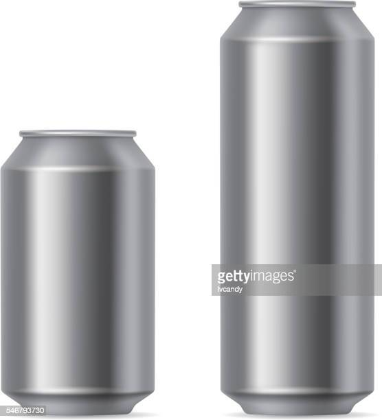 Gray cans