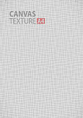 Gray canvas thread fabric pattern texture. A4 vector size background