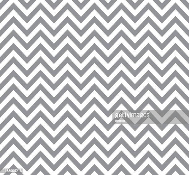 グレイのシェブロンパターン。レトロな幾何学的背景。 - 山形模様点のイラスト素材/クリップアート素材/マンガ素材/アイコン素材