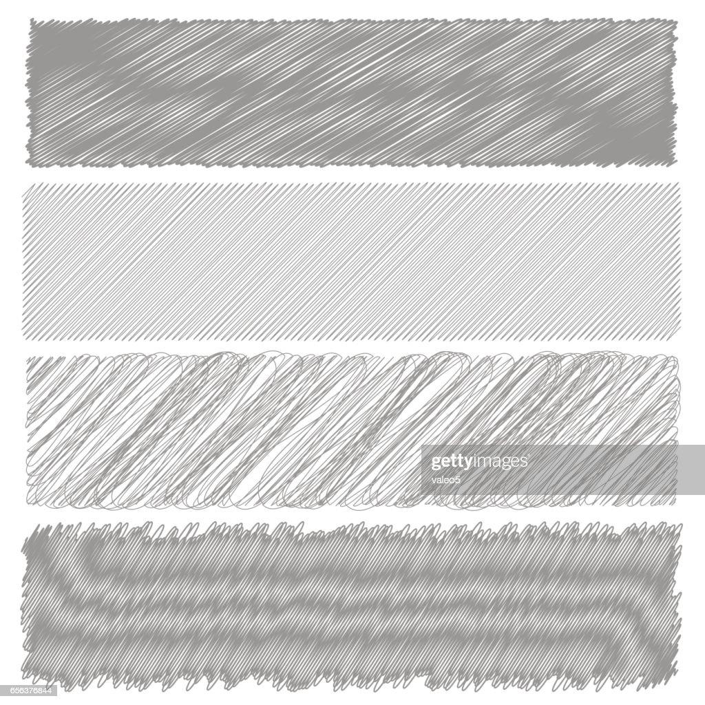 Gray Diagonal Strokes Drawn Background