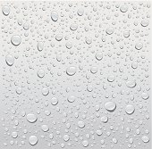 gray droplets background