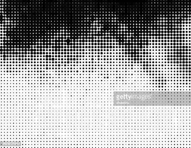 gray halftone background - spotted stock illustrations
