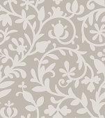 Gray seamless pattern.