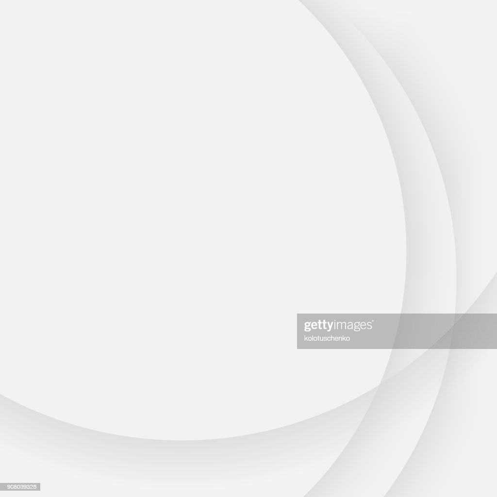 Gray simple background with curved line pattern