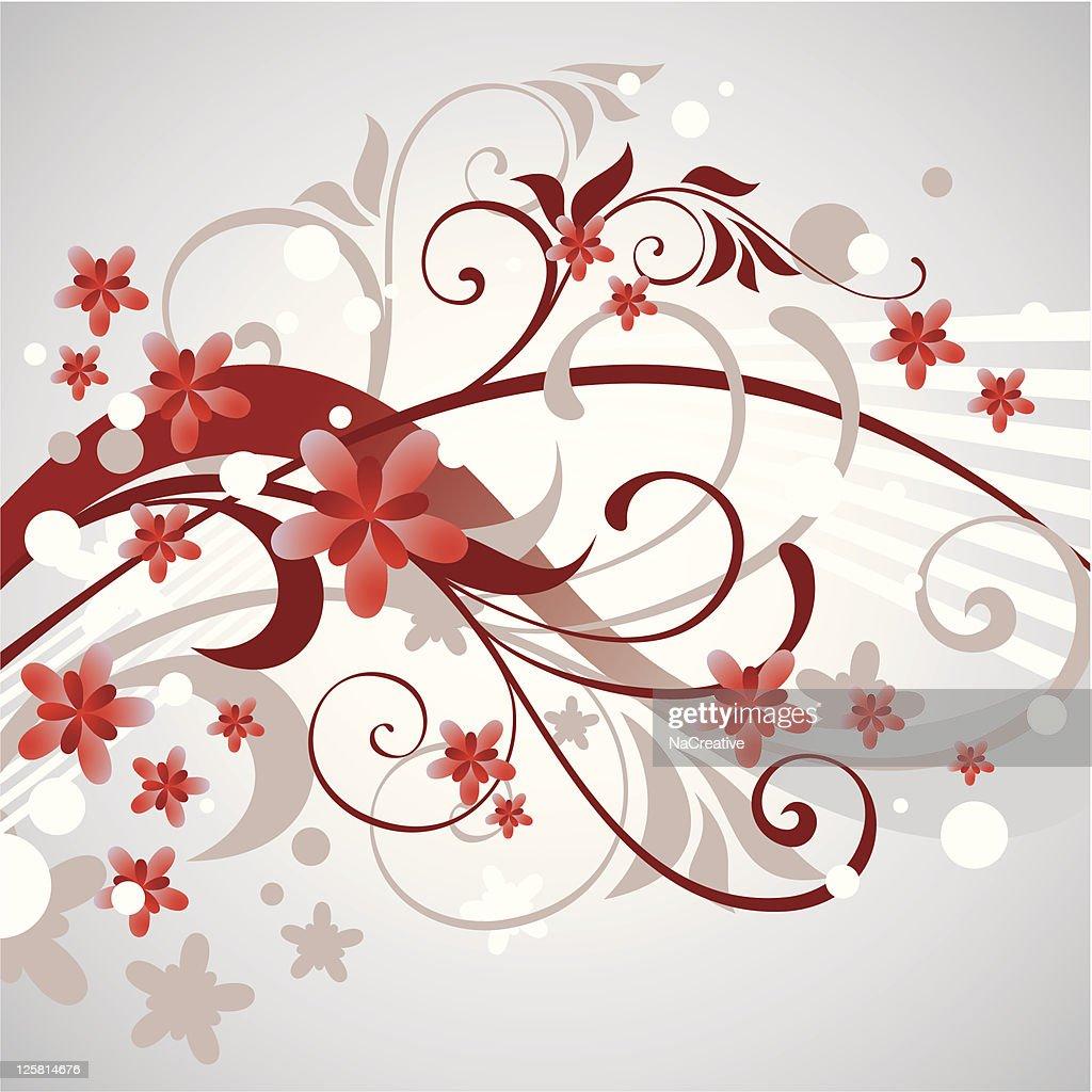 Gray Swirls ornament