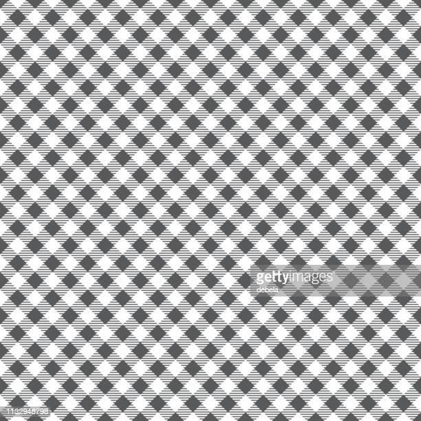 illustrations, cliparts, dessins animés et icônes de nappe grise argyle motif fond - arlequin
