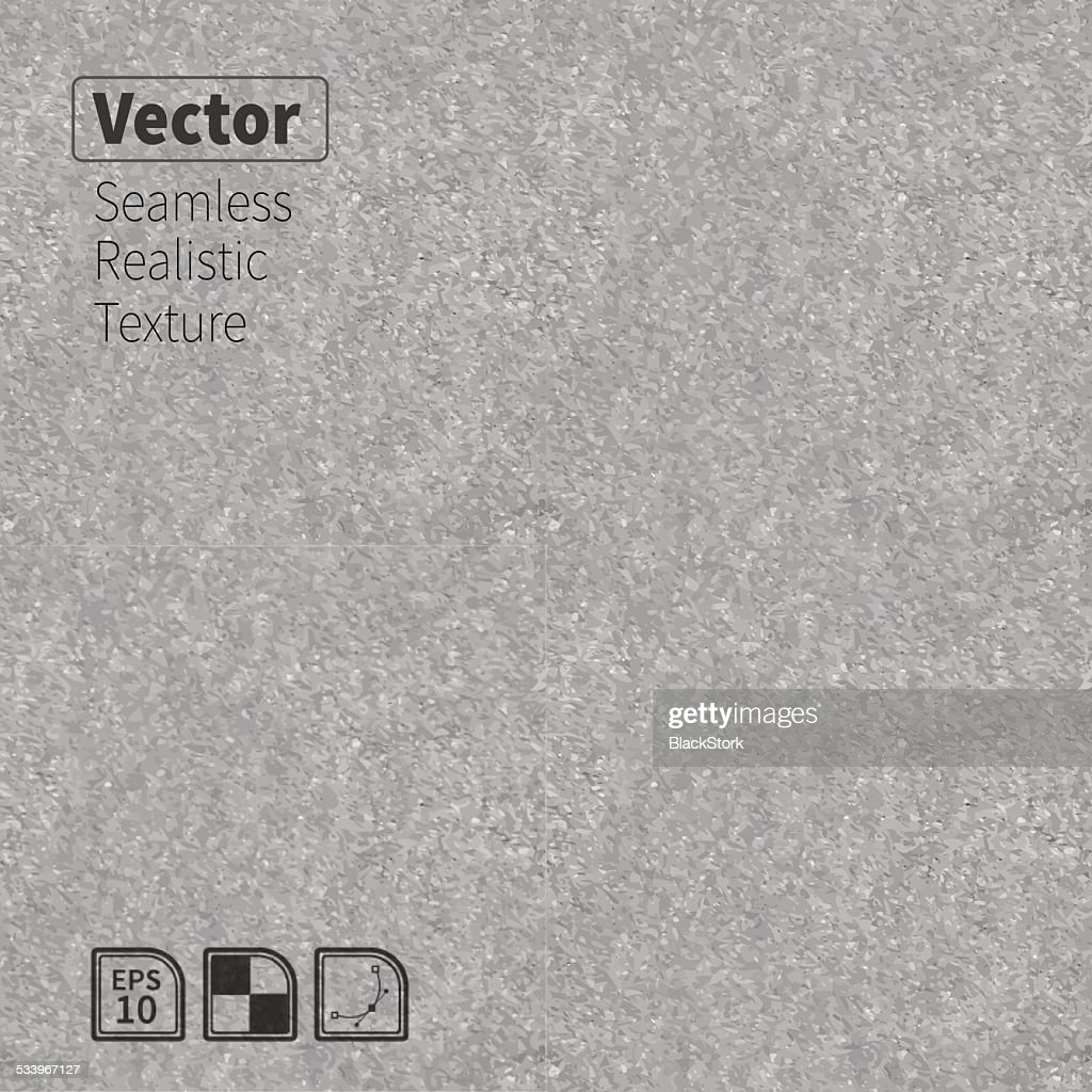 Gray vector seamless realistic stone texture.
