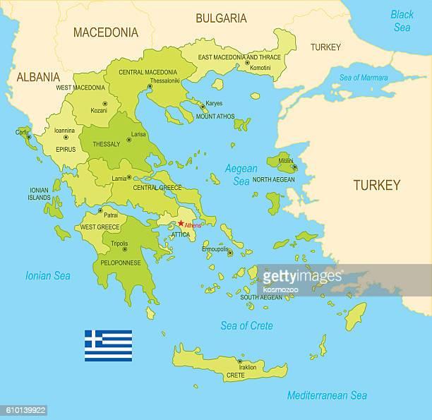 greece - greece v albania stock illustrations