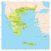 Free Greece Map Clipart and Vector Graphics - Clipart.me