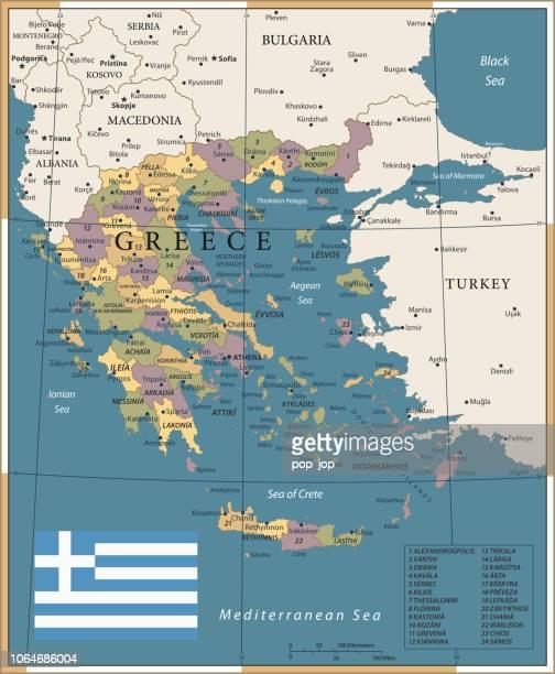 20 - Greece - Vintage Color Dark